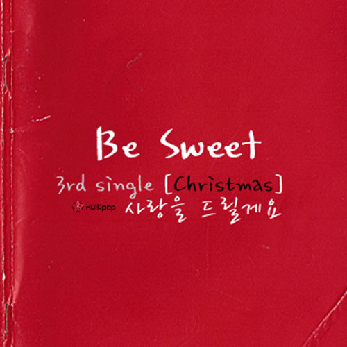 [Single] Besweet – Be Sweet 3rd Single (Christmas)