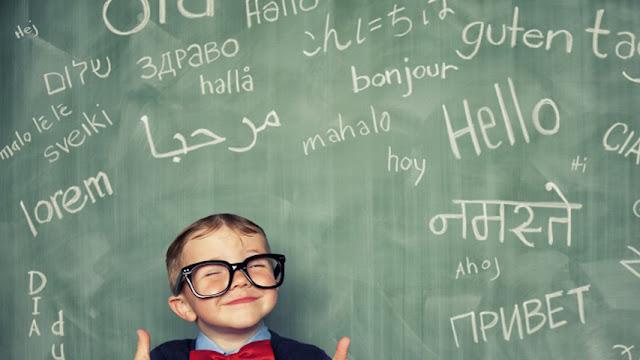 bilingual child - TEACHER, ACABEI A LESSON 59