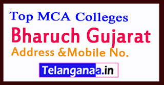 Top MCA Colleges in Bharuch Gujarat