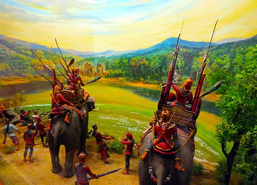 The battle for Ayuttaha starts