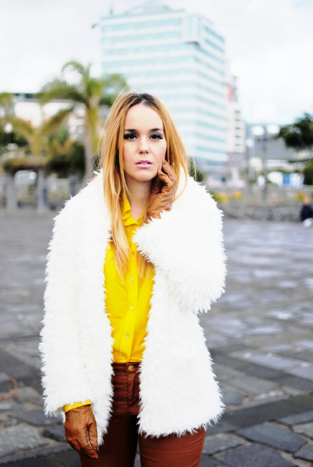 nery hdez, gloves, primark, rosewholesales, fur coat, teddy coat