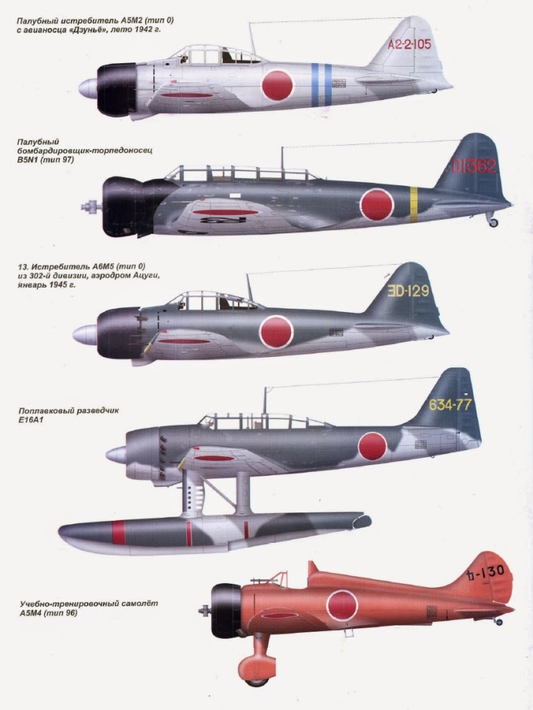 Japanese Aircraft of WWII: Camo and Markings  Japanese Aircra...