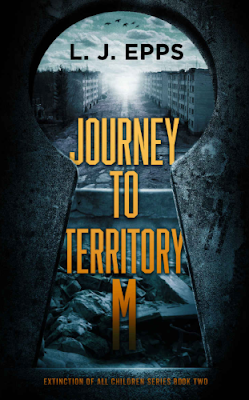 Front cover of 'Journey to Territory M' by L.J. Epps reviewed by On My Kindle BR