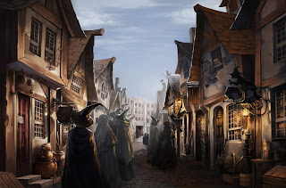 L'arrivo in Diagon Alley (Momento 1, vista 1)