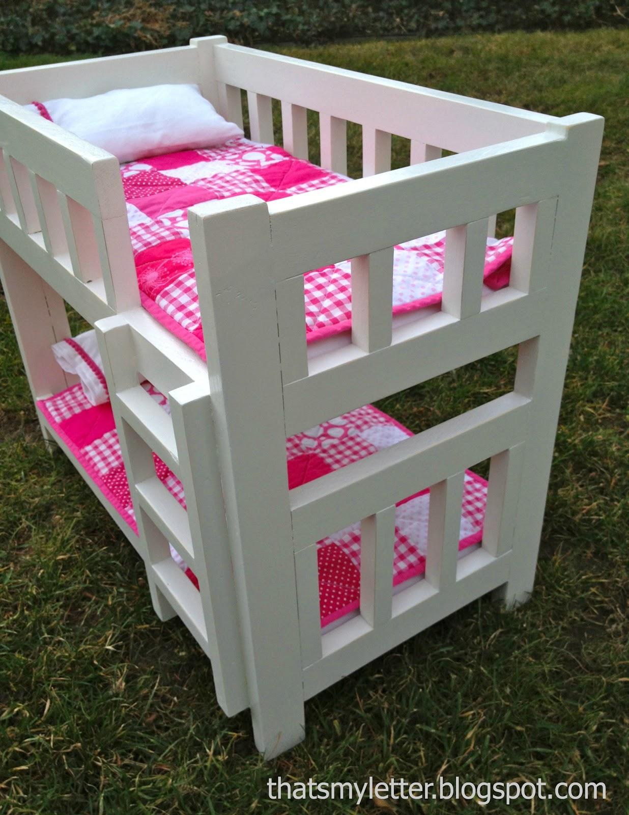 Diy Camp Bunk Bed For Dolls Jaime Costiglio