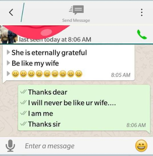 [Sad] Married Man Exposed On Facebook After Begging His Wife's Friend for S*x (See WhatsApp Chat) bunm8