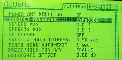 Fractal AX8 Cab modelling