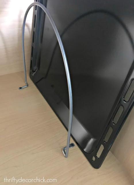 Tall dividers for awkward kitchen stuff