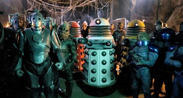 """Doctor Who conjunto de los monstruos 6/"""" acción figura Zygon Cyberman hielo Guerrero Juguetes Nuevos"""