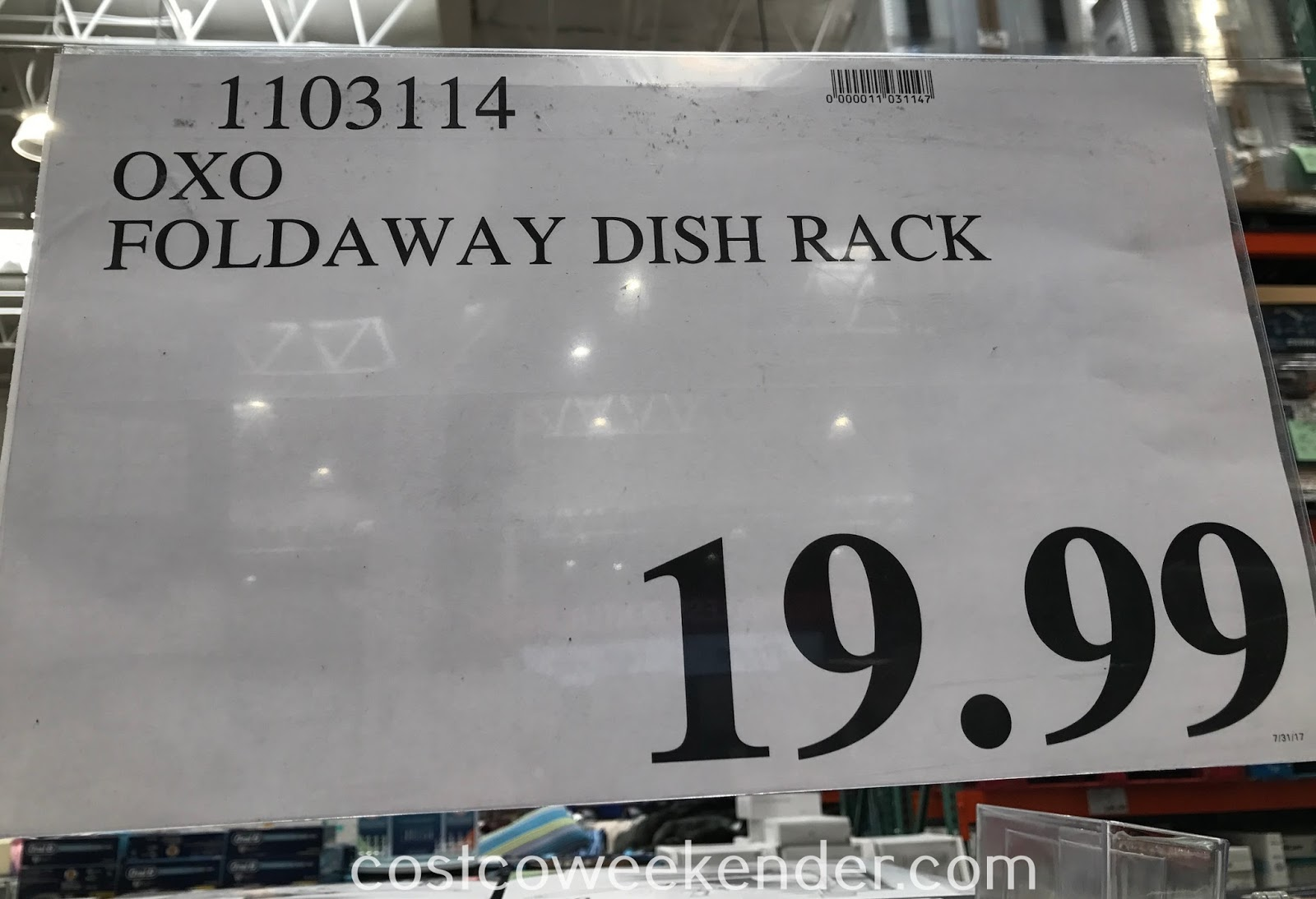 Oxo Softworks Foldaway Dishrack Costco Weekender