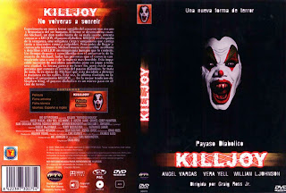 Carátula: Killjoy Payaso diabólico.