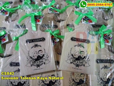 Grosir Souvenir Talenan Kayu Natural