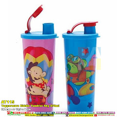Tupperware Kiddie Tumbler Sky 470ml
