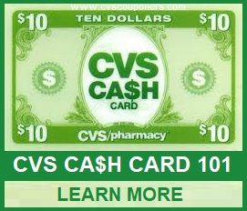 CVS Cash card 101 Tips