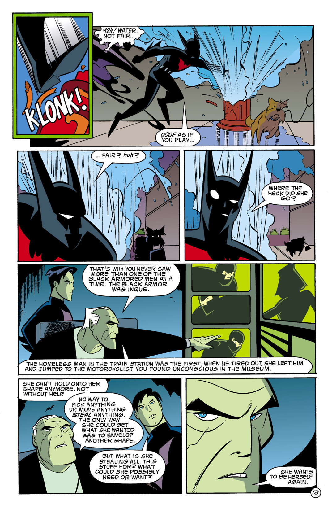 Batman Beyond [II] Issue #2 #2 - English 14
