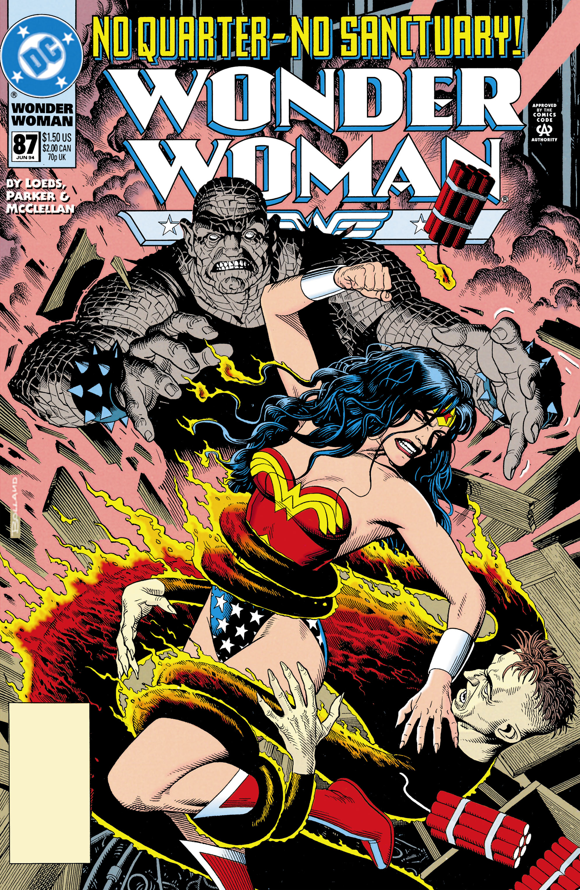 Read online Wonder Woman (1987) comic -  Issue #87 - 1