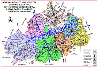 kuruksetra map on goharyana