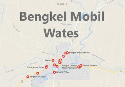Bengkel Variasi Mobil Wates, Kulon Progo