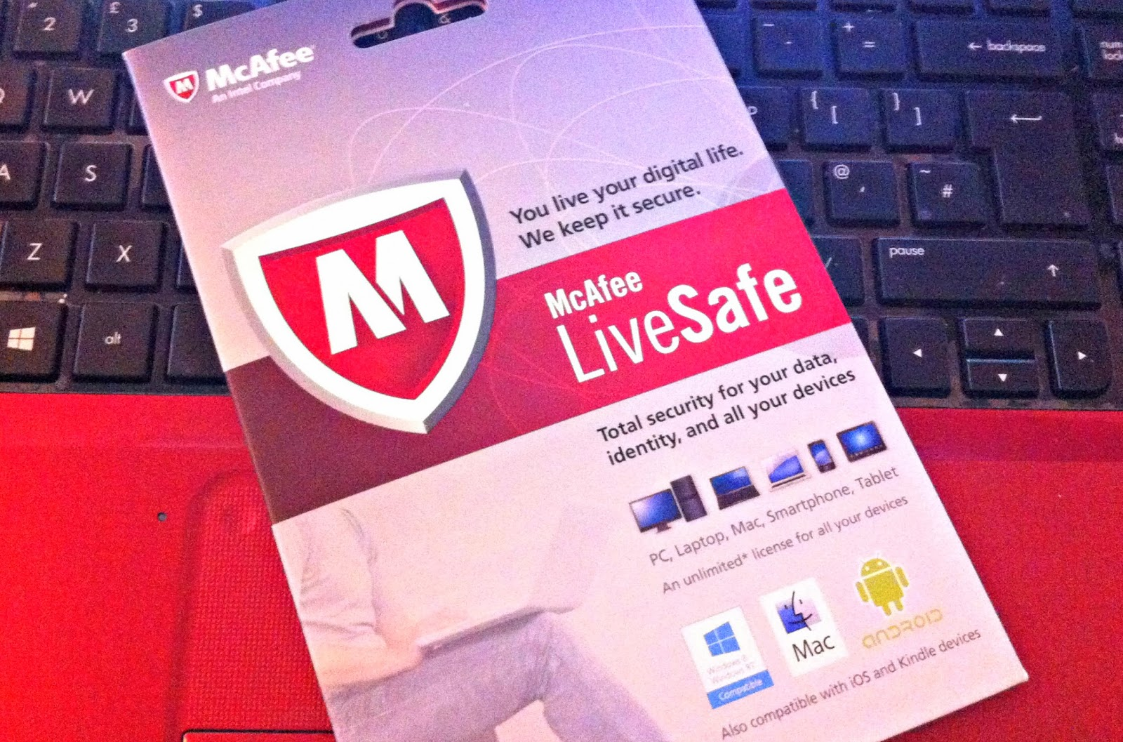 McAfee LiveSafe Review - The Ramblings of a Formerly Rock'n