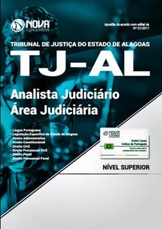 Apostila Concurso TJ-AL 2018 Analista Judiciário - Área Judiciária