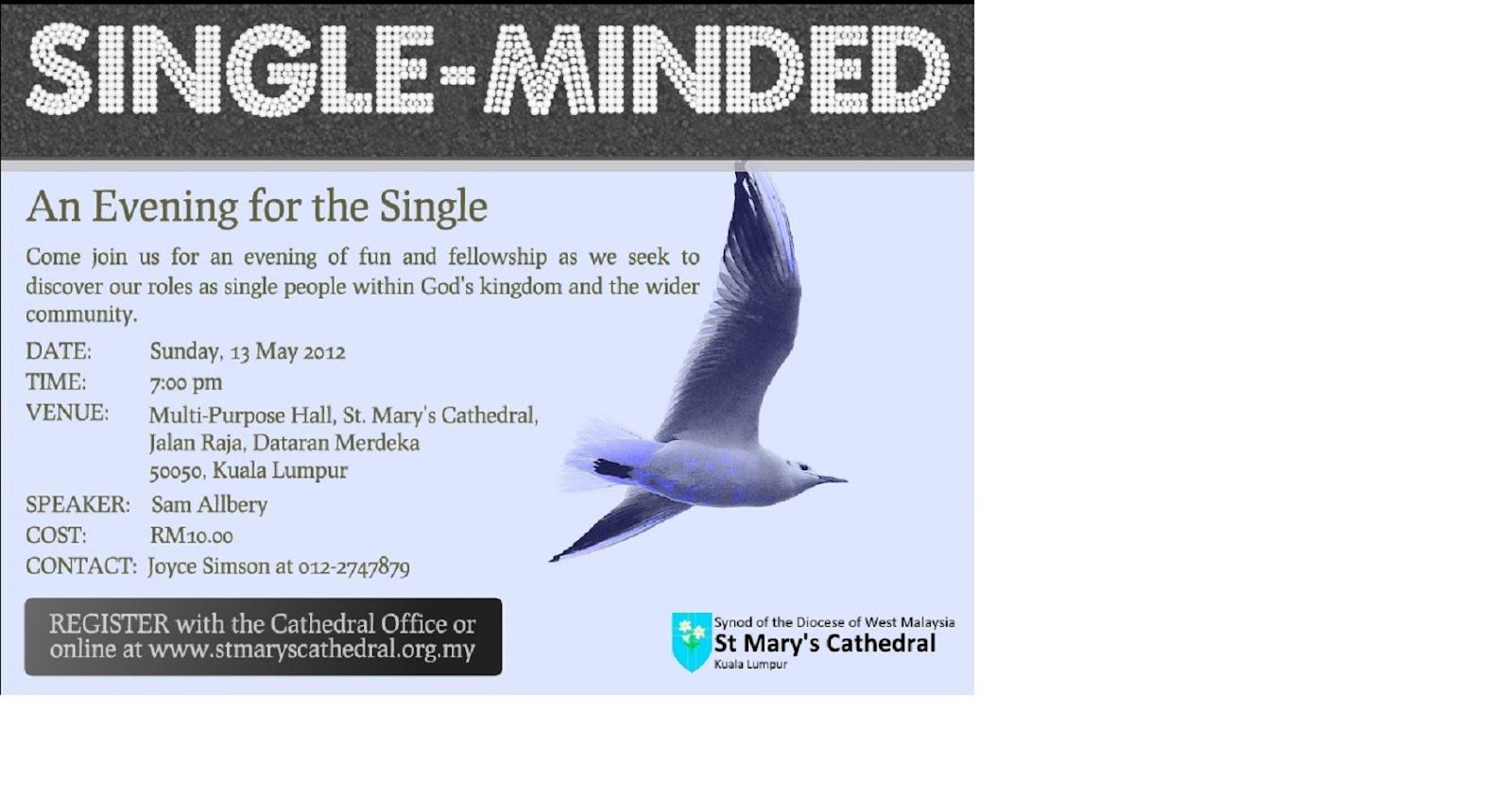 Single mindedness of purpose