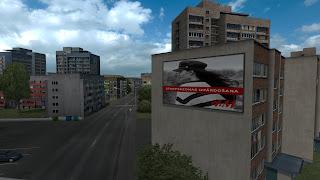 ets 2 real advertisements v1.3 screenshots, latvia 1