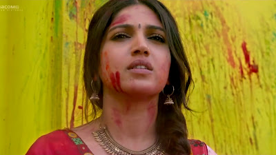 Holi HD Wallpaper Of Bhumi Pednekar