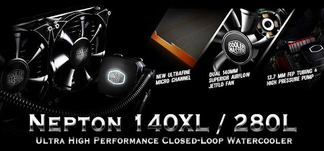 Unboxing & Review: Cooler Master Nepton 140XL 65