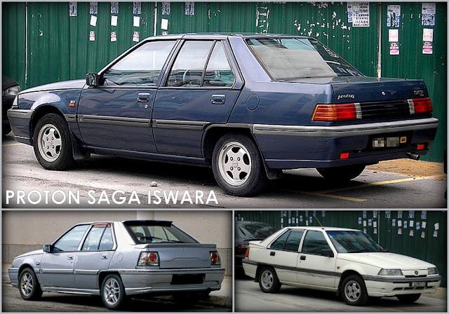 Model Kereta Proton Saga Iswara