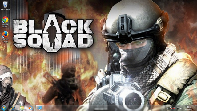 Black Squad Theme For Windows 7, 8 And 8.1 - Save Themes