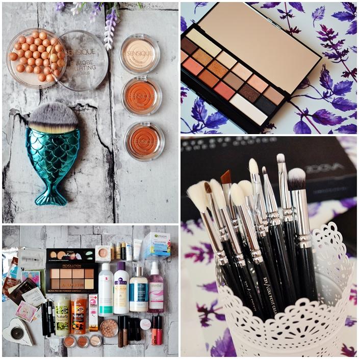 kosmetyki, nowości, Aliexpress, Zoeva, Makeup Revolution,