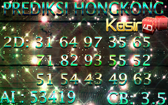 PREDIKSI KASIR4D PASARAN HONGKONG 11 JUNI 2018