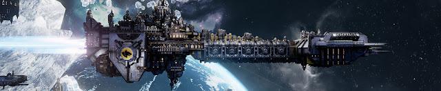 Battlefleet Gothic: Armada Space Marines DLC banner