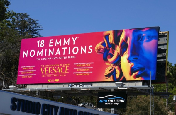 Assassination Gianni Versace Emmy nominee billboard