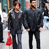 .@Slenagomez wears SANDY LIANG in New York with .@theweeknd // .@sandyliangnyc