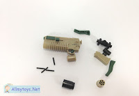 Tiny Grenade Launcher Toy Gun That Shoot