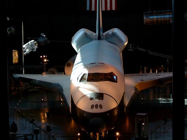 space-shuttle スペースシャトル(モックアップ)