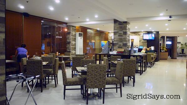 GT Hotel Bacolod Restaurant
