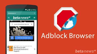 ဖုန္းေတြမွာ Browser ႏွင္႔ ေဆာ႕လုိ႔ ေၾကာ္ျငာခဏခဏ ဝင္လာလုိ႔ စိတ္ညစ္ေနသူမ်ားအတြက္ အေကာင္းဆုံး ဘန္းထုတ္ေပးႏုိင္မယ္႔ Adblock Browser v1.1.1 Apk
