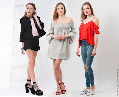 Moda 2018 mujer. Ropa de mujer verano 2018.