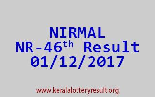 NIRMAL Lottery NR 46 Results 1-12-2017