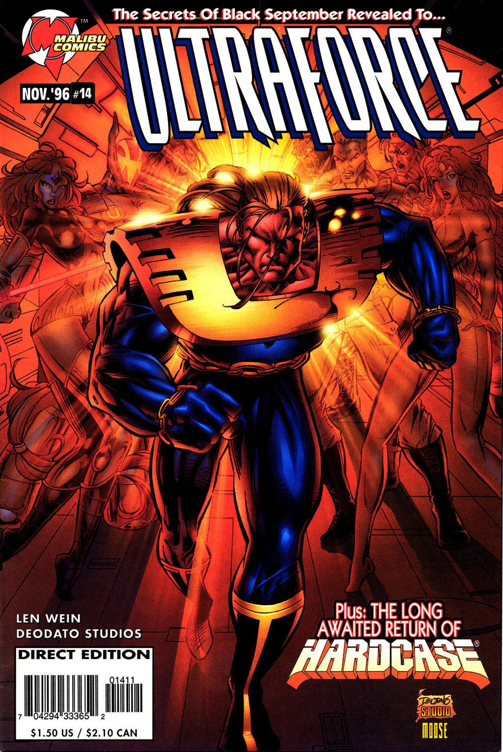 Read online UltraForce (1995) comic -  Issue #14 - 1