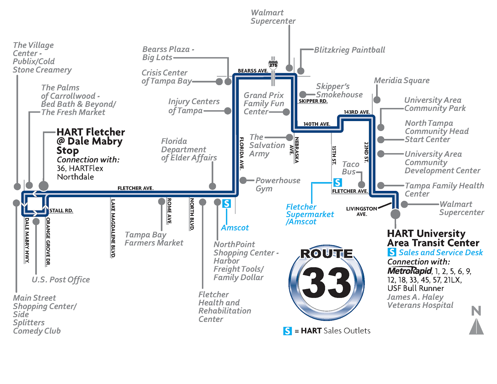 Route Of The Week Route 33