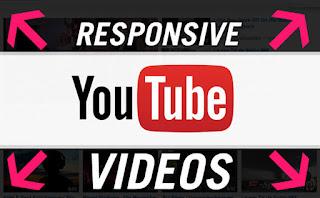 Tạo chức năng Responsive Video chèn (nhúng) từ Youtube vào Blogspot