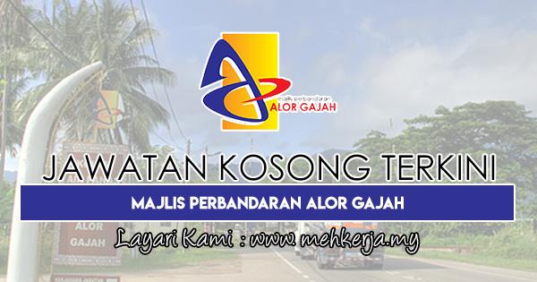 Jawatan Kosong Terkini 2018 di Majlis Perbandaran Alor Gajah