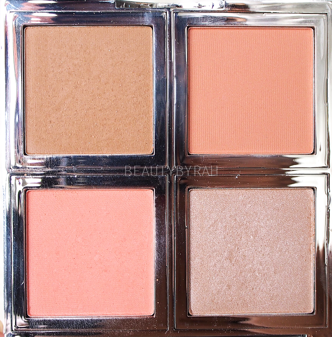 up close look at ELF cosmetics beautifully bare total face palette
