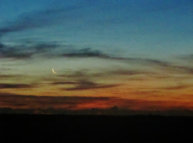 Lua Nova nas Dunas de Itaúnas, no Espírito Santo.