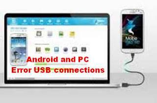 koneksi USB ponsel dan komputer error