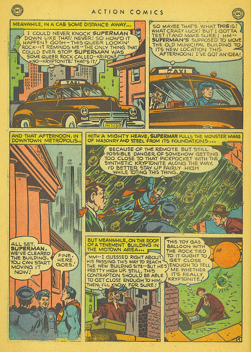 Read online Action Comics (1938) comic -  Issue #142 - 5