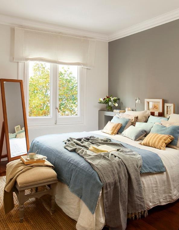 Un interior en gris y azul chicanddeco